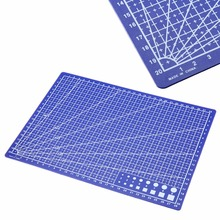 Buy A4 Grid Lines Self Healing Cutting Mat Durable Blue DIY Patchwork Craft Card Fabric Leather Paper Board Model Making Mayitr for $2.45 in AliExpress store