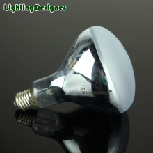 R125 Neodymium frosted material reptile bulb 220V 100W 150W pet reptile basking heating lamp Provides heat radiant heat source
