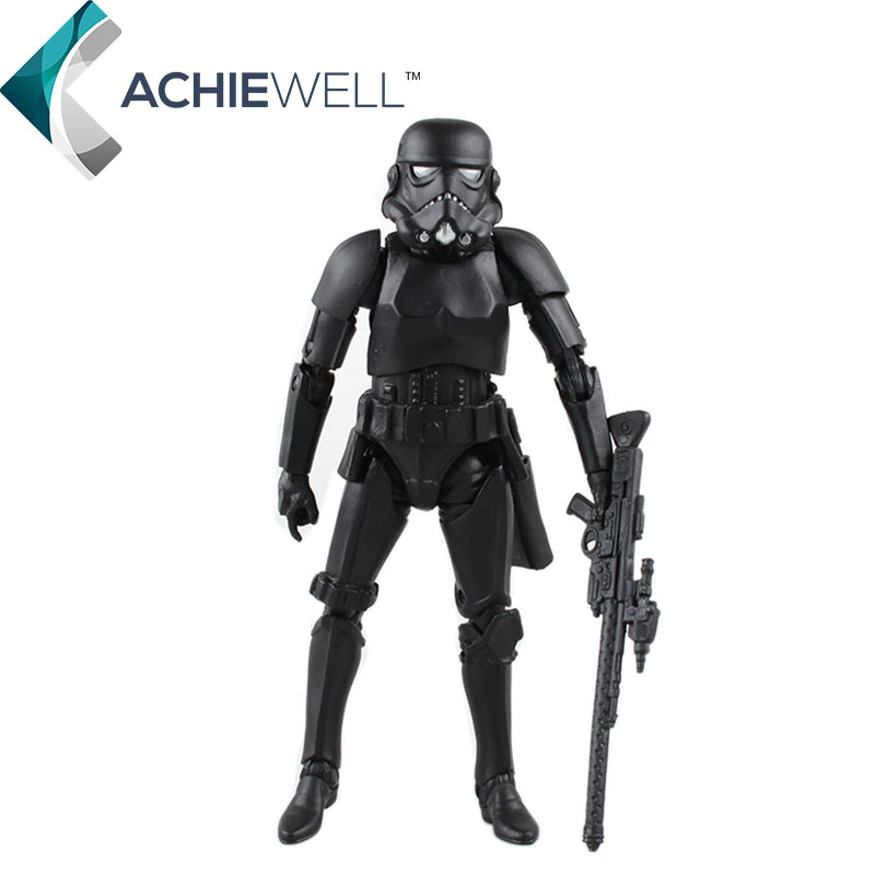 Star Wars 7 The Force Awakens Black Stormtrooper Action Figure Imperial Army Model Fan Collection Toys For Children Gifts<br><br>Aliexpress