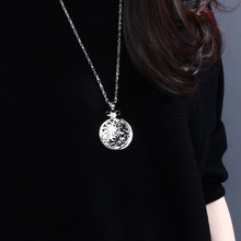 New 65cm long Chain Crystals Necklace Reading Glass Pendant Women Necklaces Magnifying Glass Pendant Necklace Free shipment
