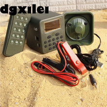 Factory Directly Sell Dc 12V 50W 100M Hunting Mp3 Bird Caller Remote Electronic Bird Callers 2017 Sounds With 210 Bird Sounds(China)
