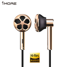 1MORE E1008 Dual Driver In-Ear Earphone Earpiece Earbuds Headset for Phone Hi-Res Audio certification for iOS and Android Xiaomi(China)