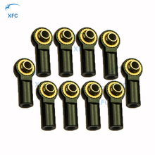 10pcs Aluminum M3 Ball Head Holder Tie Rod End Ball Joint for RC 1/10 Crawler Truck Car Part