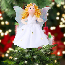 OurWarm Christmas Tree Decorations Christmas Tree Angel Ornament Christmas Tree Top Ornaments Navidad Christmas Tree Topper(China)