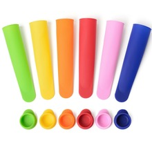 HOT 4 Colors Ice Pop Makers Popsicle Molds New Safe Silicone Freezer Ice Cream Maker Mold 1 PC