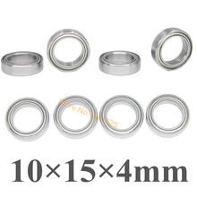 8pcs/Set Bearing Ball Bearing 10x15x4 02138 Roller 1/10 Scale For HSP Atomic Himoto Nitro RC Cars(China)