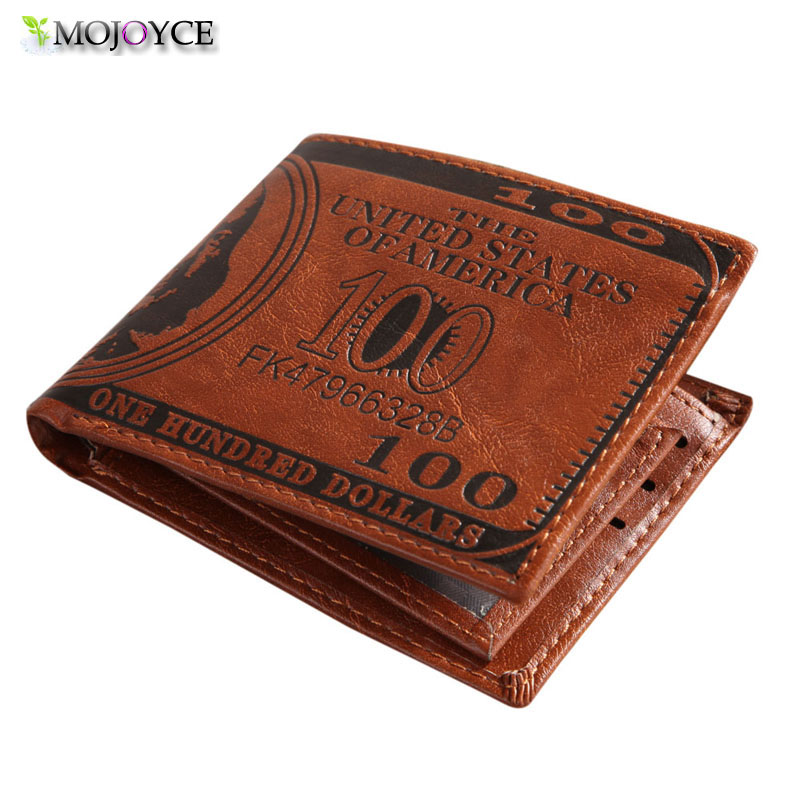 Brand Mens Faux Leather Wallet Pockets Bright Brown Mens Faux Leather Wallet Pockets Card Clutch Cente Bifold Card Holder <br><br>Aliexpress