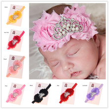 1PCS Shabby Chic Headband Princess Headband Crown Headband  Photo Prop Newborn  Headband Shower Gift