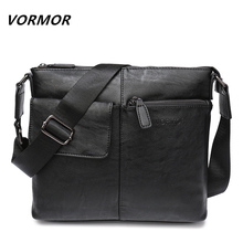 VORMOR Brand Messenger Bag Men Shoulder Bag Man Satchels Handbags PU Leather Sling Bags designer Men Crossbody Bags(China)