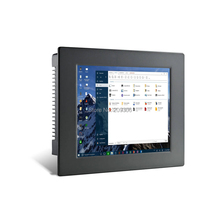 "LILLIPUT PC-1201 12"" Industrial Panel Computer 5-wire resistive touch screen Win 7 8 10 Linux system IPC Aluminum Embedded PC"