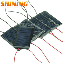 Wholesale 100PCS Solar Charger High Efficiency 0.15W Poly Solar Cell 53x30 Solar Module for DIY Panel Polycrystalline