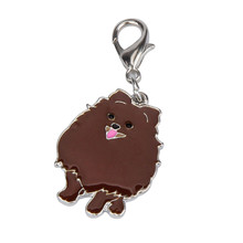 Newest Dog Tag Disc Disk Pomeranian Pet ID Enamel Accessories Collar Necklace Pendant  Levert Dropship dig671