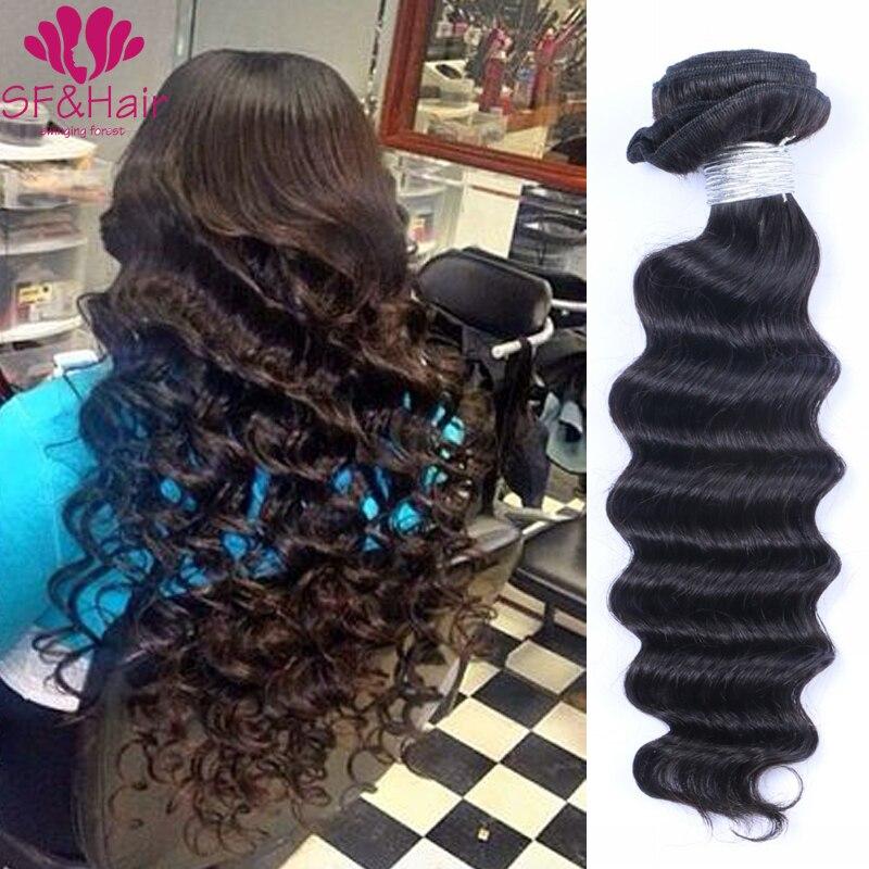 Grade 8A Brazilian Deep Wave Virgin Hair Bundle Deals Cheap Brazilian Hair 3 Bundles Deep Wave Wet And Wavy Human Hair Extension<br><br>Aliexpress