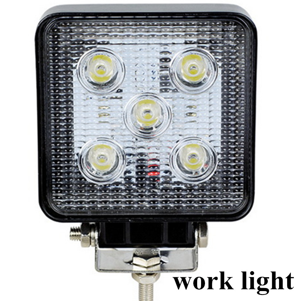 hot sell 4x4 4WD Tractor off road Car Vehicle ATV LED Work light lamp 4inch 2pcs 10-30V 15W Car Work light Spot beam<br><br>Aliexpress