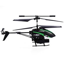 RC Helicopter Missile Launching LED Lighting Remote Control Helicogyro Built-in Gyro Infrared 3.5 Channel(China)