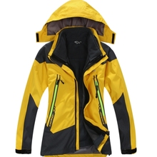 Winter Boys & Girls Outdoor Sports & Recreation Wind & Water Jackets Thermal Breathable Two-piece Ski Wear Mountaineering Campin