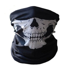 2016 New Motorcycle SKULL Ghost Face Windproof Mask  Sports Warm  Caps Bicyle Bike Balaclavas Scarf
