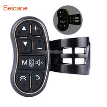 Universal Car Wireless steering-wheel Control Key Button with Backgroung Light For Car Android DVD/GPS Navigation Player Seicane