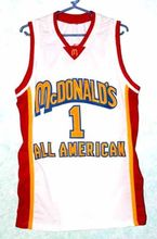 TRACY McGRADY #1 Dolphins McDonald ALL AMERICAN high quality basketball jersey Embroidery Stitched Custom any Number and name