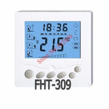 digital thermostat with large LCD display for floor heating system,Stylish and slimline design,backlight function(China)