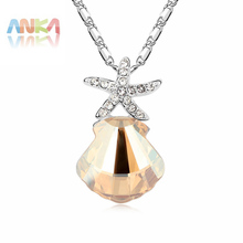 2017 Trendy Jewelry Fashion  Gp Crystals from SWAROVSKI Pendant Necklace Hot Selling Luxury Brand #96760