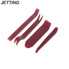 JETTING Plastic 4pcs Repairing Tool Car Radio Door Clip Panel Trim Dash Audio Stereo Removal Installation Pry For Car(China)