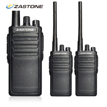 2Pcs/set Zastone A8 Two Way Radio 10W UHF 400-480Mhz Handheld FM Transceiver Radio Walkie Talkie Waterproof Portable Radio