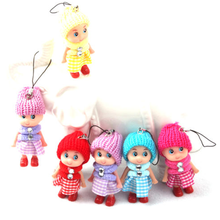 1PC Mini Ddung Doll Best Toy Gift for Girl Confused Doll Key Chain Phone Pendant Ornament