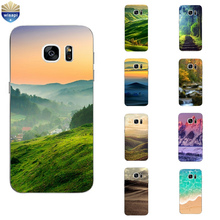 Phone Case S4 S6 S7 Edge Plus Back Cover Samsung Galaxy C5 C7 C7000 Shell Soft TPU Protection Beautiful Views Design Painted - WISAPI Store store