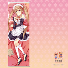 Japanese Anime Cartoon Outbreak Company Peach Skin Velvet Rectangle Flat Wall Scroll Painting Poster Print 150*50cm(China)