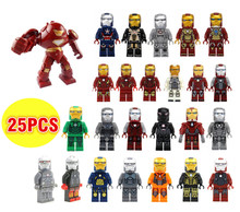 Rebrickable SY Marvel Super Heroes Avengers mini dolls IRON MAN Hulk buster figure compatible 76007 Pepper Potts children's gift - Hunan Copin Electronic Commerce Co. , Ltd. store