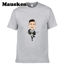 Men Superman Paulo Dybala #10 T-shirt Tees Short Sleeve Juventus T SHIRT Men's Argentina W1103001