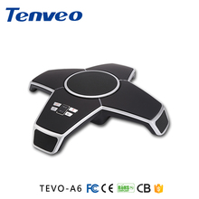 TEVO-A6 Radios 6m 360 degree pickup voip conference station video usb microphone skype conference phone(China)