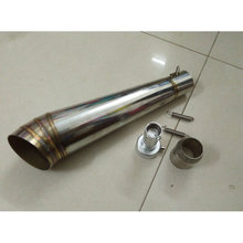 Stainless steel escape moto MP GP exhaust for Ya**ha 100CC GY6 125 150 JOG 100 RSZ100 dirt bike 125cc ktm