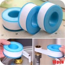 10PCS Roll Plumbing Plumber Fitting Thread Seal Tape PTFE For Water Pipe Sealing