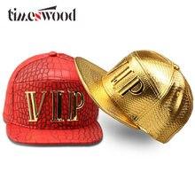 New Vip Caps Hip Hop 5 Panel Baseball Cap PU Leather Hats Unisex Gold Black  Red Snapback Casquette Men Women Big Bones Aba Reta a8b220fa9957