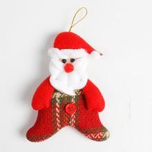 * 1pc 12*8.5cm Christmas Decoration Non-woven Fabrics Pendant Xmas Party Home Decor Ornament Xmas Enfeites De Natal 0.343