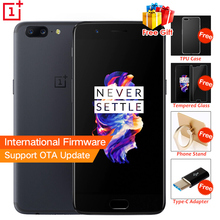 "New Original OnePlus 5  Snapdragon 835  6/8GB 64/128GB Octa Core  5.5"" 20.0MP 3 Camera 4G Mobile Phone Android 7.0  3300mAh NFC"