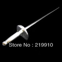 Free shipping Card Sword Compound Plastic Magic Tricks