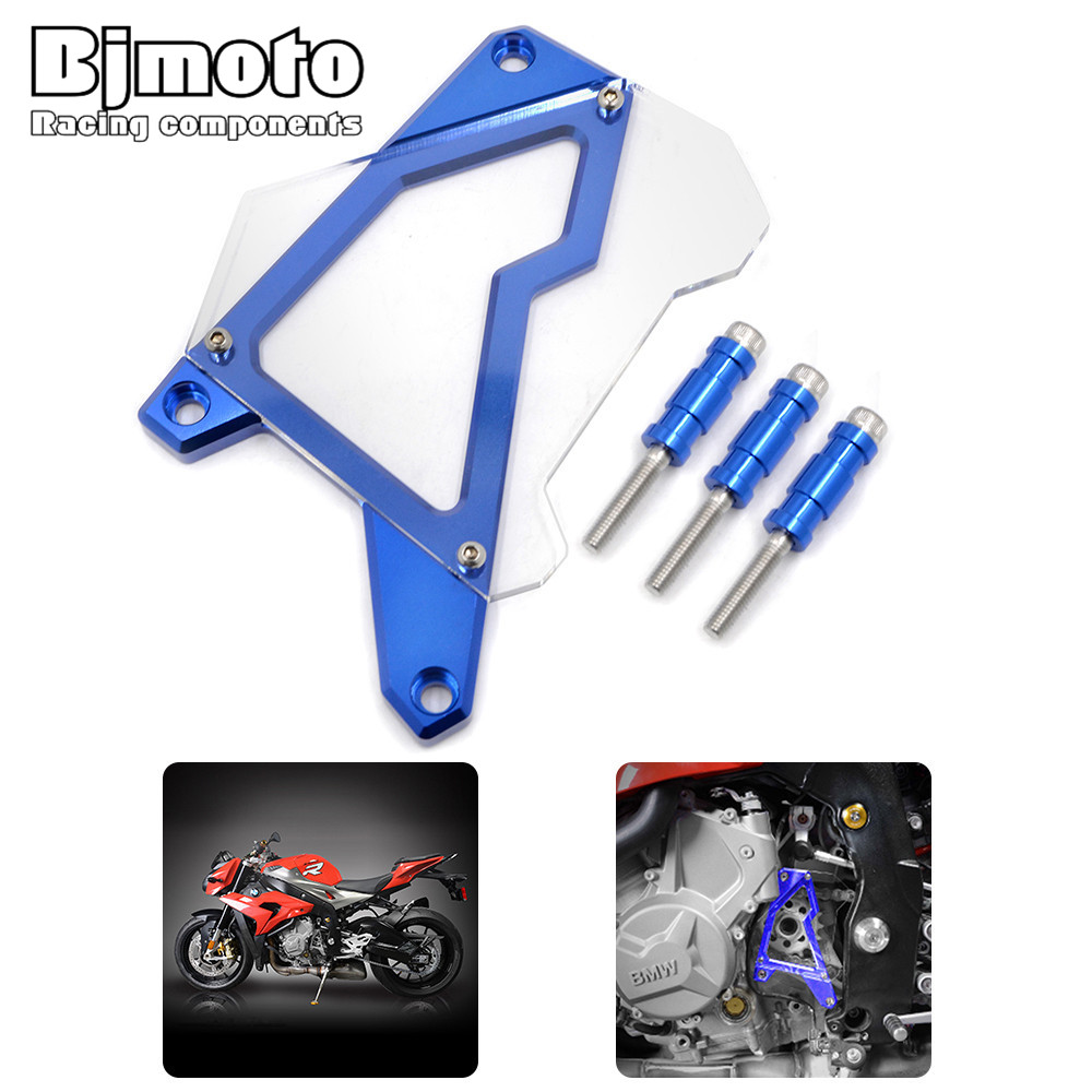 For BMW S1000RR 2010-2016 HP4 S1000XR S1000R 2014 2015 motorcycle motorbike Motocross Aluminum Sprocket Cover Front Chain Guard<br>
