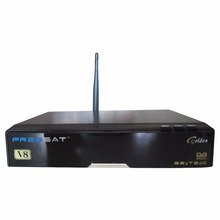 Freesat V8 Golden Singapore starhub cable tv box + USB wifi adapter, For HD channels, football games, Singapore set top box