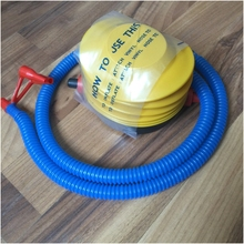 Top Quality! Inflatable Pump Party Toy Air Pump Balloon Swim Ring Inflating Tool Pedal Type Mattress Inflatable for Yoga Ball(China)