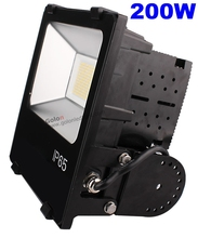 LED Industrial flood light 200w Meanwell UL driver SMD 3030 led flood lighting 100-277V Fedex free shipping 200 watt LED