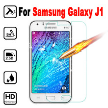 J1 Screen Protector Tempered Glass For Samsung Galaxy J1 J100 Protective Film Mobile Phone Screen Protector on J 1 100 Glass