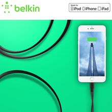 Belkin Original MFi Certified 8 pin Lightning to USB Flat Charge Cable for iPhone 7 6s Plus SE for iPad with Package F8J148bt(China)