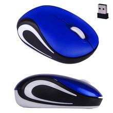 Laptop Mouse 2016 Cute Mini 2.4 GHz Wireless 2000 DPI Optical USB Mouse Lovely Mice For PC Laptop Notebook
