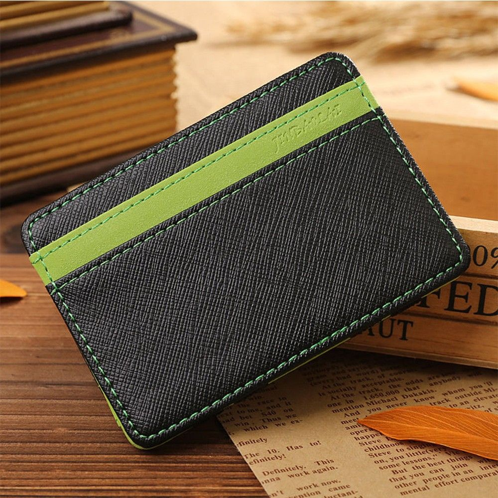 Men PU Leather Walle Brand New Fashion Design High Quality
