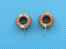5pcs/lot Naked 100UH 3A Toroidal inductor Winding Inductance Magnetic Ring Inductance(lm2596 dedicated)
