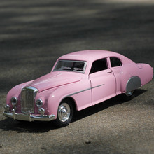 Vintage Die-cast rc Car Model Metal Toys with sound & light Gift for Children 1:32 Alloy Super RC car for Bentley 1955