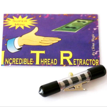 Invisible Thread Reel/ Micro Dlx EZ-X/Tricks Card Floating levitation/Flower Floating/magic tricks magic prop(China)